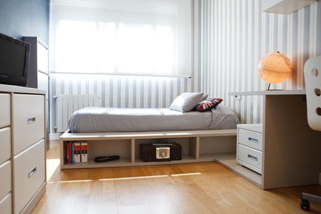Funda nordica tapidecorblog - Dormitorios pintados a rayas ...