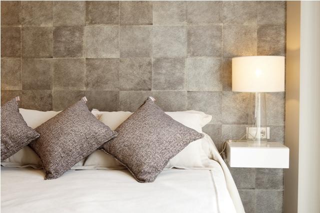 Dormitorio principal l mpara sobremesa baja cajonera blanca - Tapidecor alzira ...