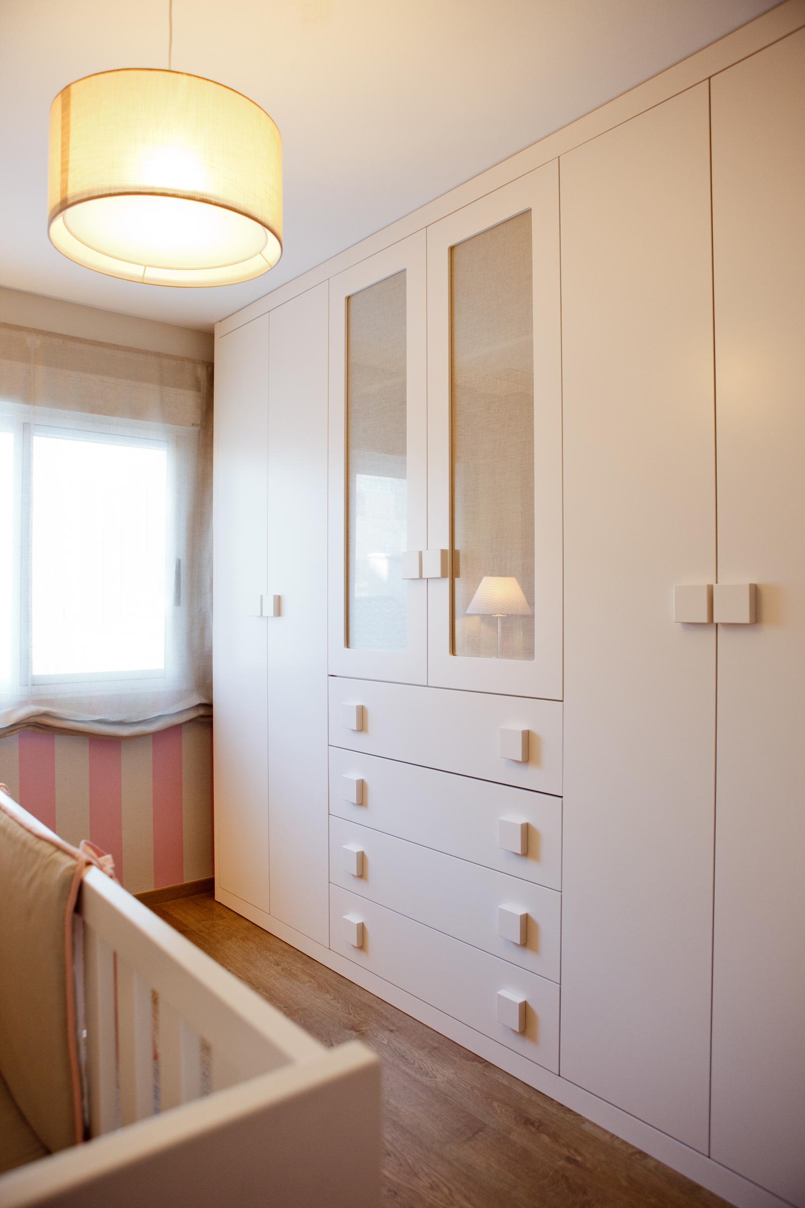 Habitacion bebe muebles madera
