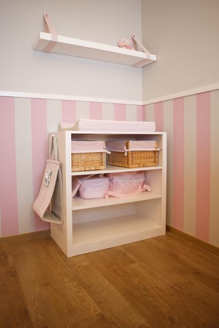 Papel pintado tapidecorblog for Muebles pintados a rayas