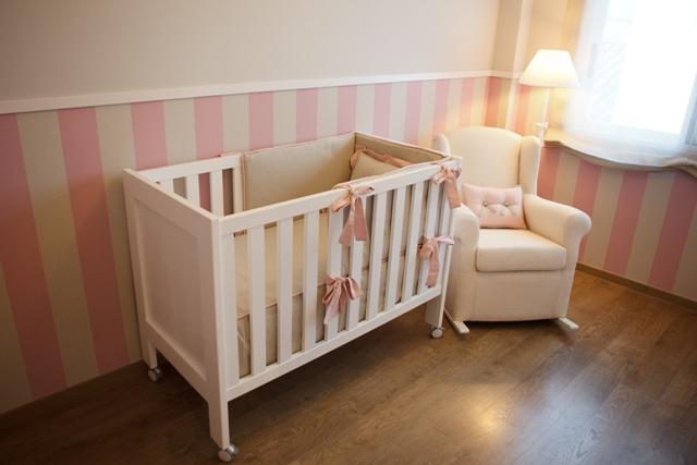 Papel pintado tapidecorblog - Habitacion infantil rosa ...