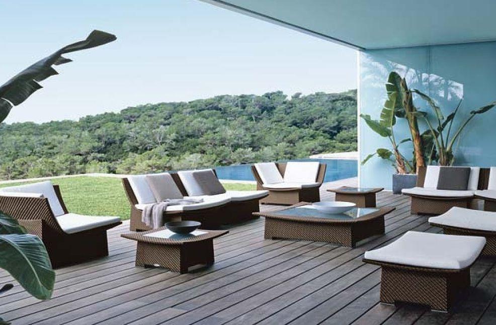 Un tejido ideal para muebles de exterior tapidecorblog - Muebles de exterior ...